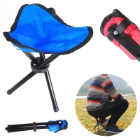 Outdoor Portable Fishing Chairs Casting Folding Stool Convenient Fishing Folding Stool Chair Folding Chair Fishing Accessories