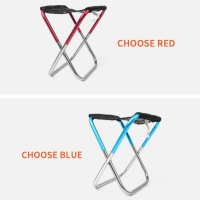 Portable Folding  Aluminum Camping Chair Oxford Cloth Foldable Ultralight Fishing Chair Seat Outdoor Leisure Picnic Beach Pro