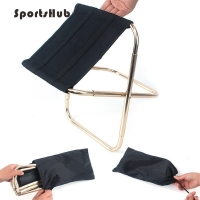 SPORTSHUB Lightweight Outdoor Fishing Chair Portable Folding Backpacker Oxford Cloth Foldable Picnic Camping Stool SES0033