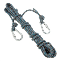 Docooler Professional High Strength Rock Climbing Rope Outdoor Rescue Caving Rappelling Survival Cord Sling Rope