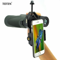 TOTEN Universal Cell Phone Adapter Mount Monocular Binoculars Spotting Scope Bracket Eyepiece Adapter Multifunction