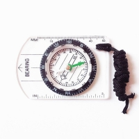 Mounchain Professional Mini Compass Map Scale Ruler Multifunctional Equipment Outdoor Hiking Camping Survival bussola brujula