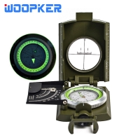 Professional Military Compass Tourist Navigator For Forest Hunting  Water Survival Geological Digital Camping Hiking Equipment