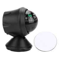 Black Electronic Adjustable Military Marine Ball Night Vision Compass for Boat Vehicle  Boat Compass; Vehicle Compass; Compass;