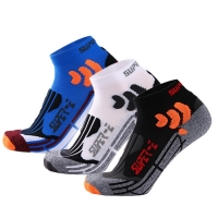 SUPER ELITE Cool Men Ankle Running Sports Sock Cycling Basketball Best Athletic Sock Sport Winter Warm Hiking Ski Hockey Thermal