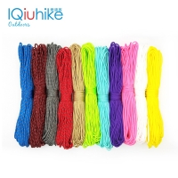 IQiuhike Parocord 2mm 25FT 50FT 100FT (31Meters) One Stand Cores Paracord Rope Cuerda Escalada Paracorde Bracelets Paracord