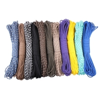 GEGEDA 7 strand 4mm Paracord 550 100ft camping climbing rope outdoor survival  type iii cord Wholesale