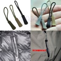 Zipper Pull Puller End Fit Rope Tag Fixer Zip Cord Tab Replacement Clip Broken Buckle Travel Bag Suitcase Clothes Tent Backpack