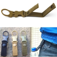 molle attach webbing outdoor Quickdraw Carabiner backpack Hanger Hook camp hike Water Bottle clip hang clasp Buckle Holder tool