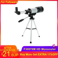 Professional Outdoor HD Monocular 150X Refractive Space Astronomical Telescope Travel Spotting Scope with Portable Tripod