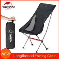 Naturehike Folding Chair Portable Camping Seat with 330 lbs Bearing Capacity for Backpacking Fishing Hiking Picnic RV Beach Lawn