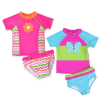 Newborn Baby Bikini Sets Girl Swimsuit Infant Bathing Suits Summer Girls Two Pieces Swimwear Shorts Beach T-shirt