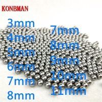 Shooting Steel Balls 5mm 6mm 7mm 8mm 9mm 10mm 11mm Hunting Slingshot Stainless AMMO outdoor wholesale 100pcs/lot