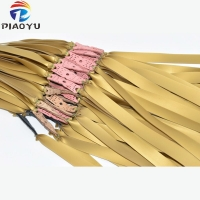 6pcs  1mm Flat Rubber Band Thicknes Slingshot Hunting Catapult Natural Latex Flat Elastic Resilient for Shooting