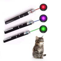 Hot Sale 2017 Cool 2 In1 Red Laser Pen Pointer Pen With White LED Light Show Funny stick Childrens Toy Free Shipping