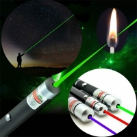 Blue Red Green Powerful Laser Pen Beam Light 5mW Laser Presenter Light Hunting Laser Sight Device Teaching Outdoor Survival Tool