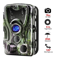 Wireless Hunting Camera Trail Night Vision Cameras HC801A 16MP 1080P  IP65 Photo Trap 0.3s Trigger Wildlife Surveillance