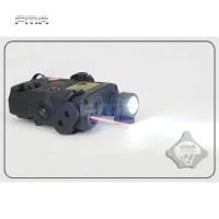 FMA PEQ-15 LA5 Upgrade Version LED White Flashlight + Red laser with IR Lenses Tactical Hunting Rifle Airsoft Battery Box TB0074
