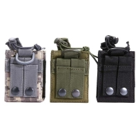 600D Nylon Outdoor Pouch Package Pouch Tactical Sports Pendant Military Molle Radio Walkie Talkie Holder Bag Magazine Mag Pouch