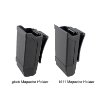 CQC Stack Magazine Holster Tactical Mag Holder for Glock 9mm Caliber Magazine or 1911 Caliber