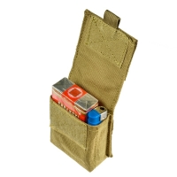Military Molle Pouch Tactical Single Pistol Magazine Pouch Sheath Airsoft Hunting Ammo Camo Bag