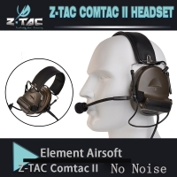 Z-tac tactical comtac II peltor headphones no noise reduction function communication earphone 2018 New version Z151