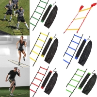 4/6/7/9/12/14 Rung Nylon Straps Agility Training Ladders Soccer Football Speed Ladder Training Stairs Fitness Equipment