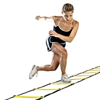 Durable 9 rung 16.5 Feet 5M Agility Ladder for Soccer and Football Speed Training With Carry Bag Fitness Equipment ladders