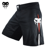Men's Black Blue Fight Boxing Fitness Breathable Quick Dry Pants boxing shorts muaythai shorts Tiger Muay Thai shorts mma boxeo