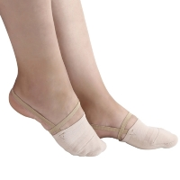 Rhythmic Gymnastics Toe Shoes Soft Half Knitted Socks Ballroom Art Gym Accessories Ginastica Elastic Dance Foot protection Shoes