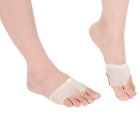 2pcs/Pair Ballet Toe Pads Dance Paw Shoes Foot Thongs Elastic Soft Lace Dancing Shoes Half Sole Rhythmic Dancing Accessories