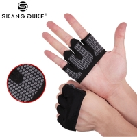 1Pair Anti-skid Gym Gloves Breathable Body Building Exercise Training Sports Fitness Gloves Men&Female Crossfit Exercise Sports