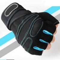 Half Finger Fitness Gloves Weight Lifting Gloves Protect Wrist Gym Training Fingerless Weightlifting Sport Men Women Gloves