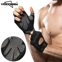 Veidoorn gym gloves fitness weightlifting gloves men women non-slip hand protection breathable exercise sports training gloves