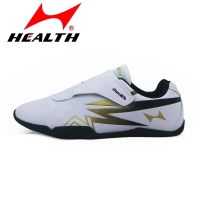 Health kids Taekwondo shoes breathable soft bottom rubber bottom men women training adult Taekwondo shoes wrestling fight