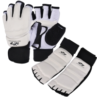 High quality WTF approve hand protector foot protectors Child man woman karate MMA kick boxing muay thai Taekwondo hands guards
