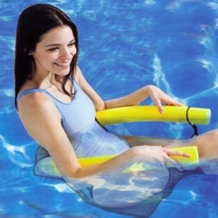 Hot Sale Novelty Bright Color Pool Floating Chair Swimming Pool Seats Amazing Floating Bed Chair Pool Noodle Chair *