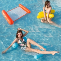 Air Mattresses Portable Air Water Mattress Inflatable Swimming Mattress Floating Chair Swimming Pool Seats for Adults Children