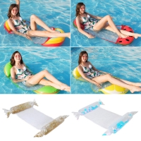 Swimming Air Mattress Floatable Confortable Pool Floating Bed Inflatable Summer Water Hammock Lounge Chair Water Sports
