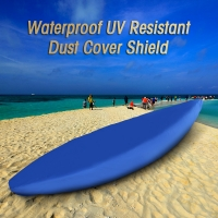 Professional Universal Kayak Cover Canoe Boat Waterproof UV Resistant Dust Storage Cover Shield Kayak Boat Canoe Storage Cover
