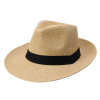 Newly Women Lady Men Straw Hat Beach Summer Wide Brim Cap Breathable Panama Fashion Sunhat  19ing