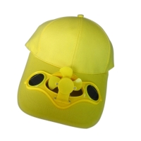 Summer Solar Sun Power Cap Solid Color Hat With Cool Fan For Outdoor Sport Bicycling Fishing Climbing YA88