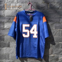 TIM VAN STEENBERGE Thad Castle 54 Mountain State TV Show Football Jersey-Blue