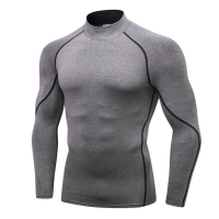 Quick-drying Running T-Shirt Long Sleeve Training Compression Exercise Sports American football sweatshirt