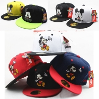 Cartoon Mouse Mickey Kids Hat Boys And Girls Healthy Comfortable Cute Baseball Caps Adumbral Ventilate Adjustable Baseball Hat