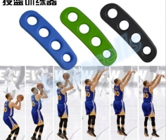 1pcs Stephen Curry Silicone Gesticulation Correct ShotLoc Basketball Ball Shooting Trainer Three-Point Shot Size for Kids Adult