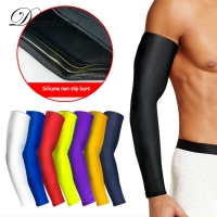 1 PCS Basketball Arm Sleeves Lengthen Breathable Compression Arm Warmers Cycling Running Sunscreen Protection Arm Elbow Support