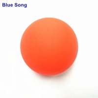 Blue song ice hockey ball grass round rolling hockey Nontoxic 100%silicone High rebound manufacturing tasteless Yoga fascia ball