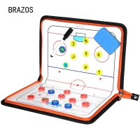 Zipper Ice Hockey Tactic Board Coach Tactical Board Advance Ice Hockey Game Referee Training Tactics Magnetic Ball Clipboard