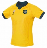 2019 World Cup AUSTRALIA HOME rugby Jerseys Rugby League shirt wallabies JERSEY shirts big size s-5xl